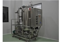 Automatic cleaning CIP System with casters