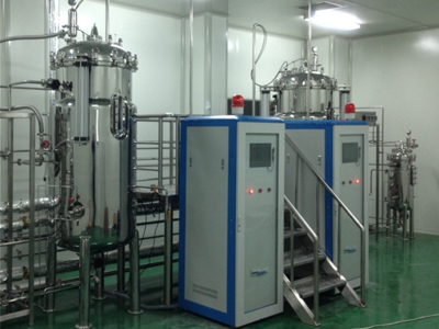 200L 2000L Double mechanical seal airlift fermentor system for microoganism
