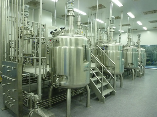 90L1400L pertussis vaccine workshop fermentation tank
