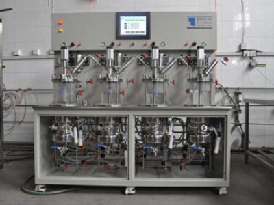 four conjoined bioreactor(sterilization in situ)