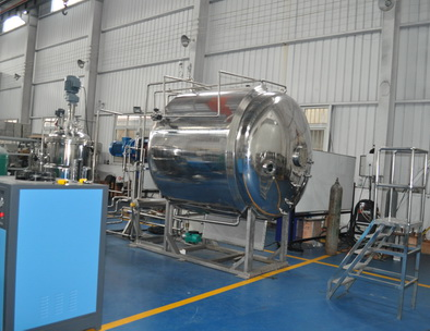 China knik bio 5000L solid state fermentor system with seed fermentor and steam generator